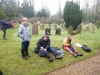 Lunch at Ringsfield Churchyard