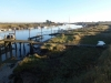 Crossing the bridge back to Southwold