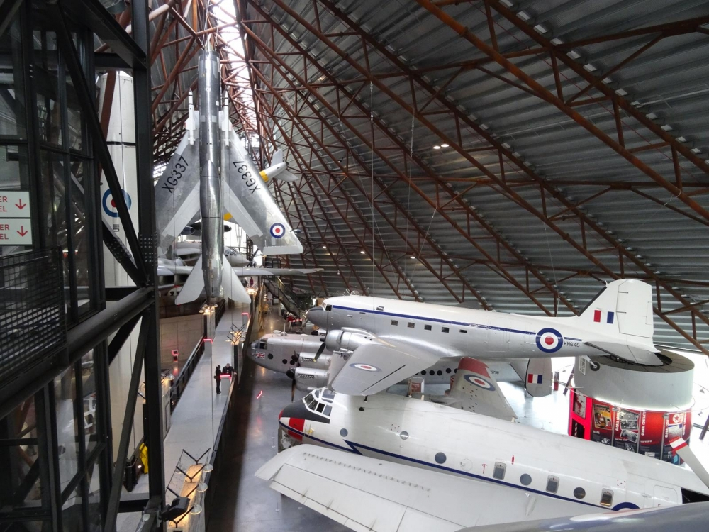 At the RAF museum, Cosford